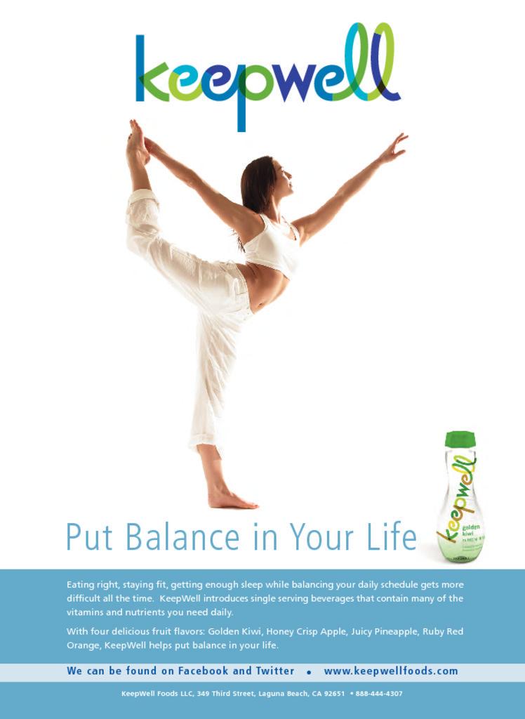 thumbnail of Keepwell yoga ad